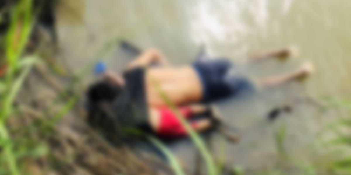 Foto de pai e filha mortos em rio ilustra drama de quem tenta cruzar a fronteira com os EUA