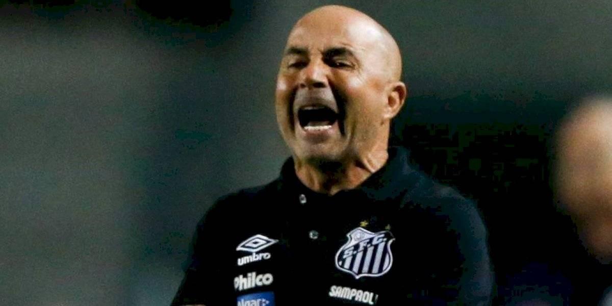 Sampaoli sigue sufriendo en Brasil: Santos suma cuatro partidos sin ganar y quedó a 10 puntos del puntero