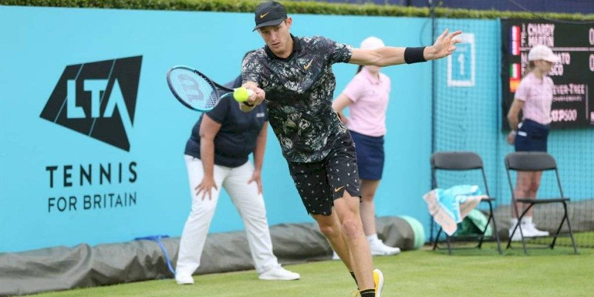 Así vivimos la eliminación de Nicolás Jarry del ATP 250 de Eastbourne