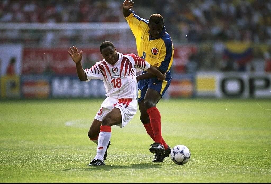 El Tren Valencia jugó 37 partidos y anotó 14 goles con la selección absoluta de Colombia / Foto: Getty Images