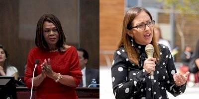 Mae Montaño y Verónica Espinoza