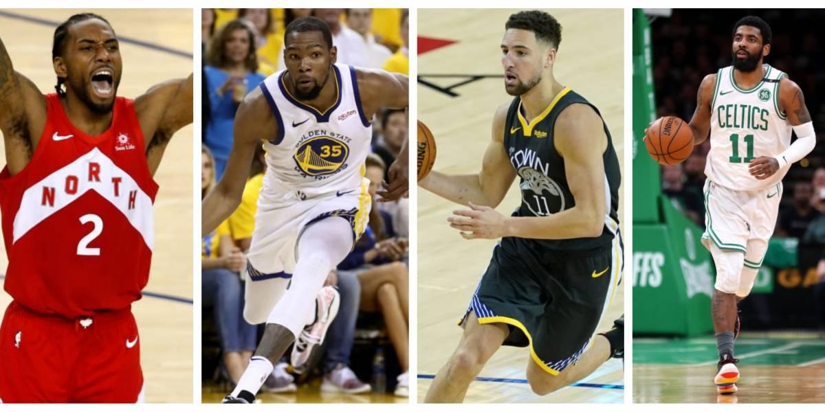 Leonard, Durant, Thompson e Irving: 10 agentes libres que encienden el mercado de la NBA