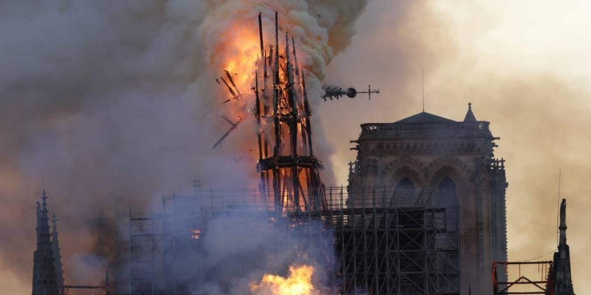 Se revelan nuevos datos sobre el incendio en la catedral de Notre Dame