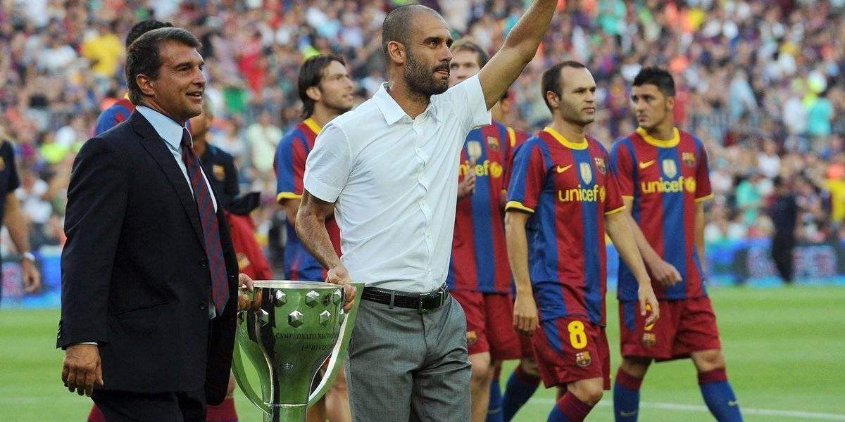 Pep Guardiola cierra la puerta de retorno al Barça