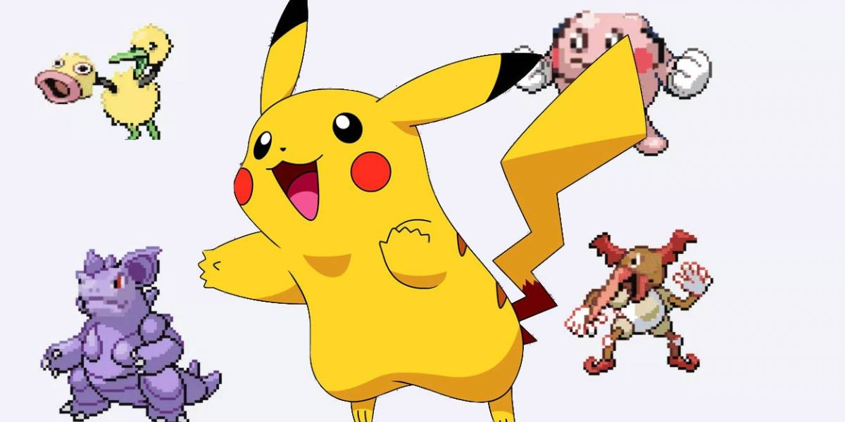 Estas son las fusiones más aberrantes de Pokémon