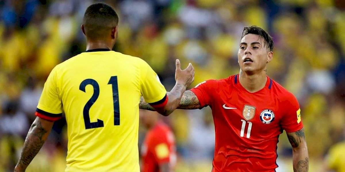 """Eduardo Vargas quiere romper su """"mufa colombiana"""" en el partido más esperado de los cuartos de la Copa América"""