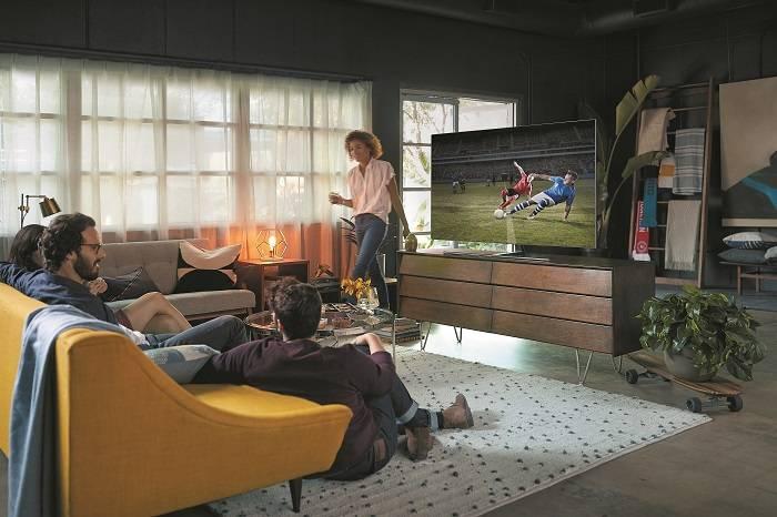 Esta es la selección ideal de televisores de Samsung para disfrutar del fútbol