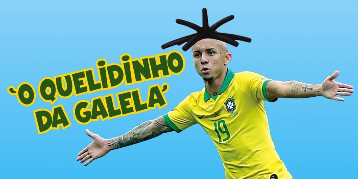 Everton Cebolinha assume protagonismo da Seleção e canaliza o carinho da torcida