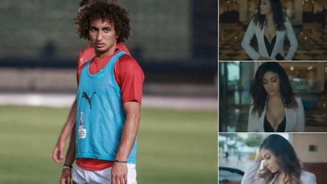 Egipto licenció al futbolista acusado de acoso sexual