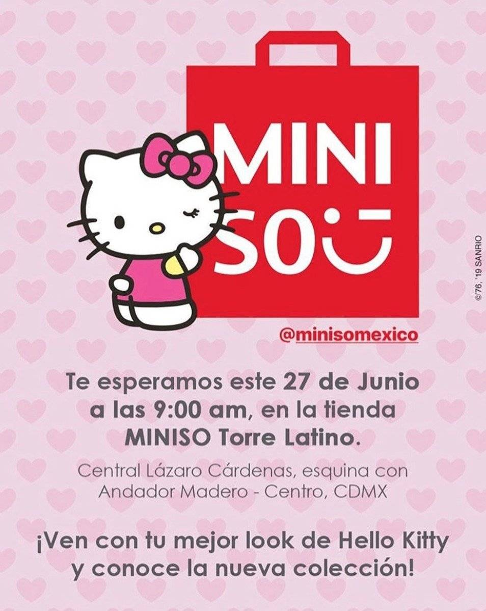 Miniso Hello Kitty México