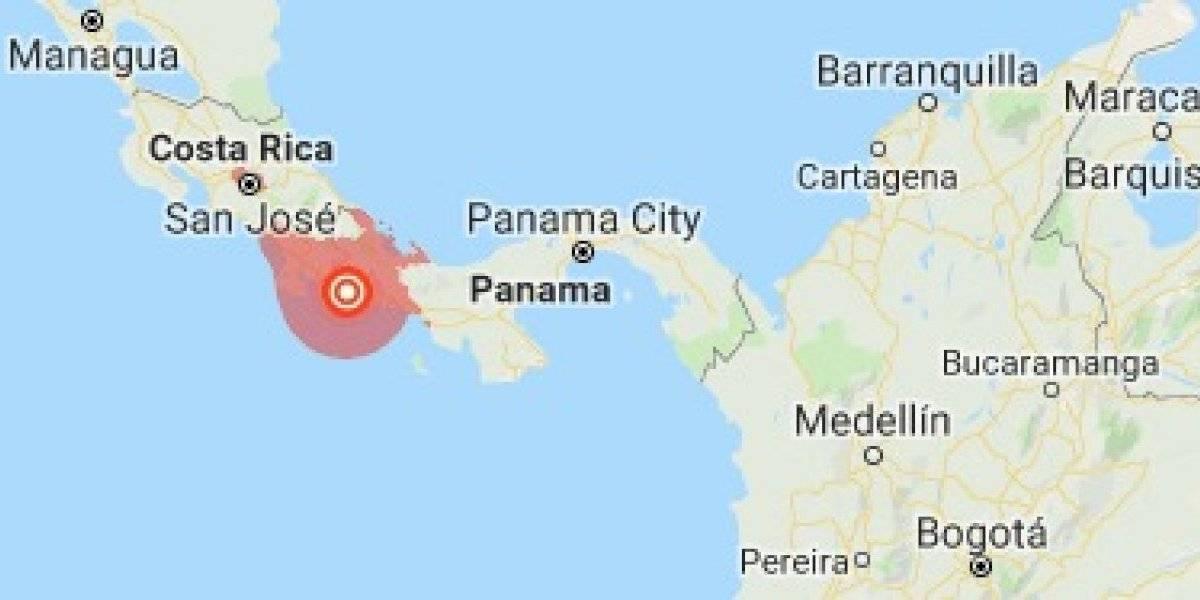Sismo de 6,3 remece frontera de Panamá y Costa Rica