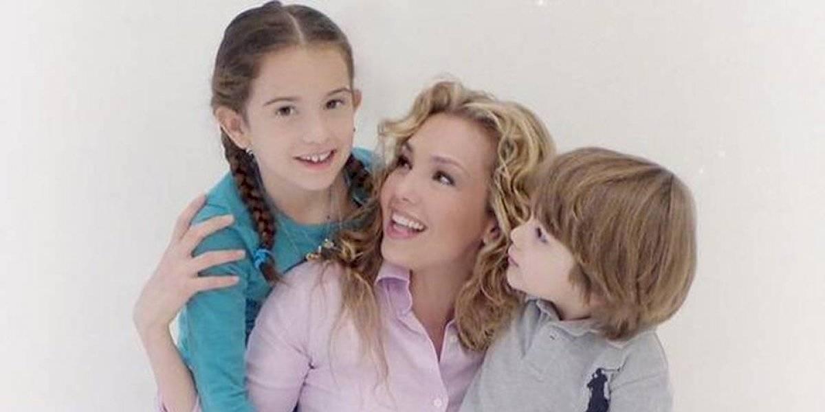 Por primera vez, Thalía muestra una foto embarazada día antes de tener a su hijo