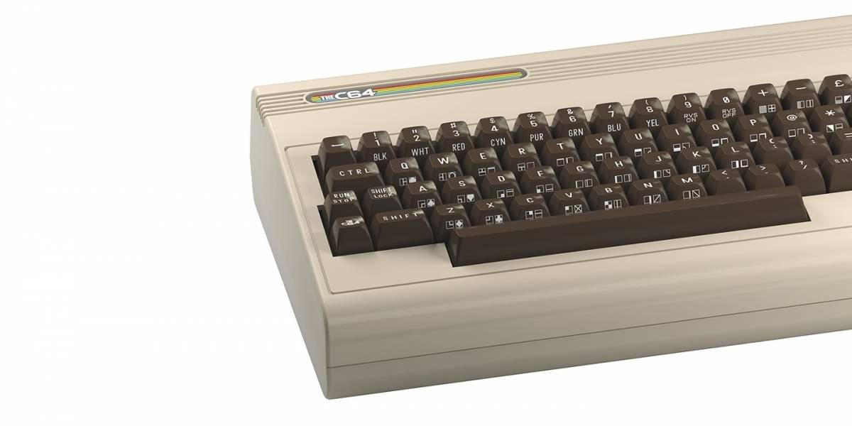 TheC64 trae de vuelta las viejas glorias del Commodore 64 después de 40 años