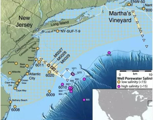 """Científicos han descubierto mar de """"agua dulce"""" debajo del Océano Atlántico"""