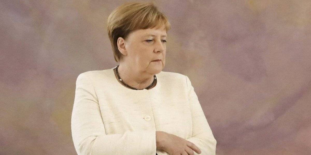 """Angela Merkel le resta importancia a sus temblores: """"Son una reacción y ya pasarán, estoy segura"""""""