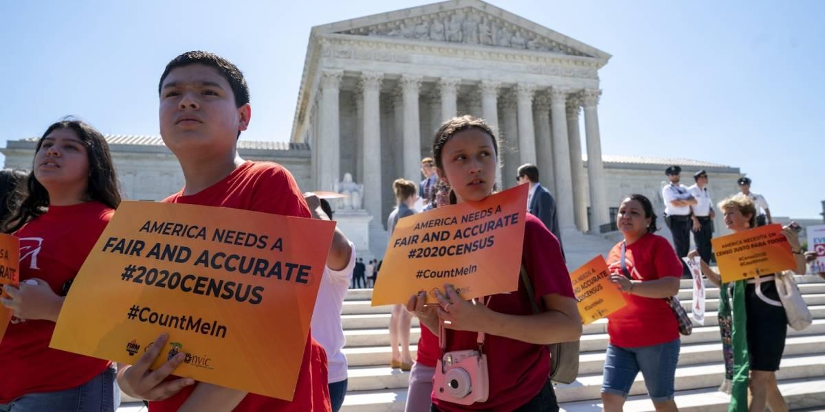 Suprema Corte rechaza propuesta de Trump para el censo 2020