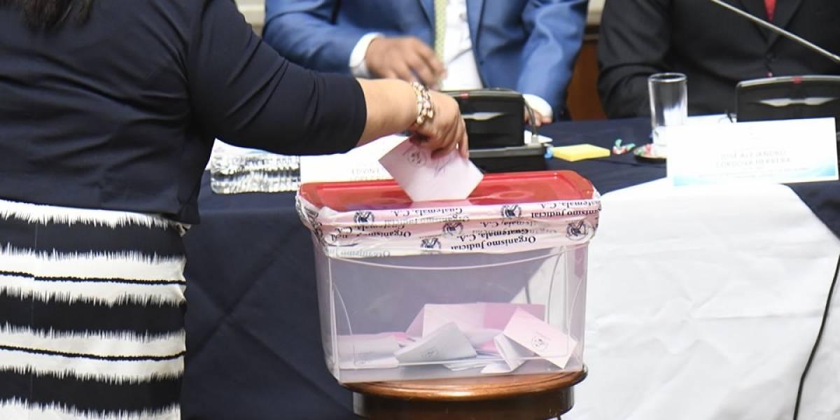 Única planilla gana elección de representantes ante comisión de postulación