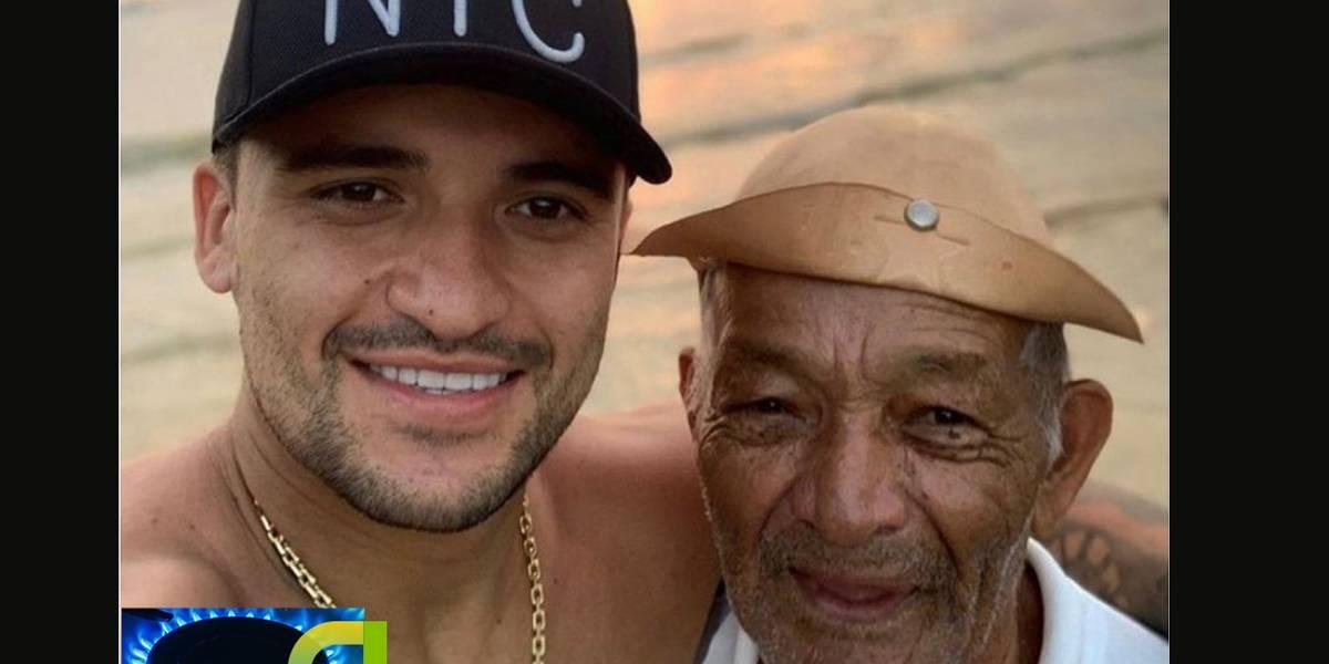 PM encontra avô desaparecido do lateral do Palmeiras Victor Luiz
