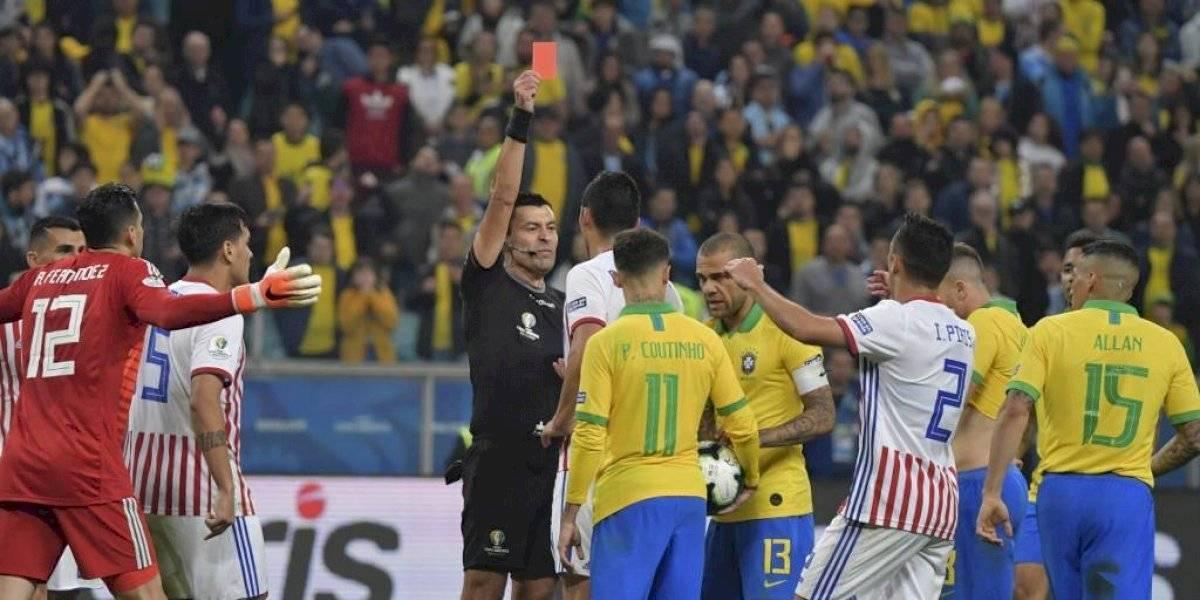Brasil se venga de Paraguay y es semifinalista de Copa América