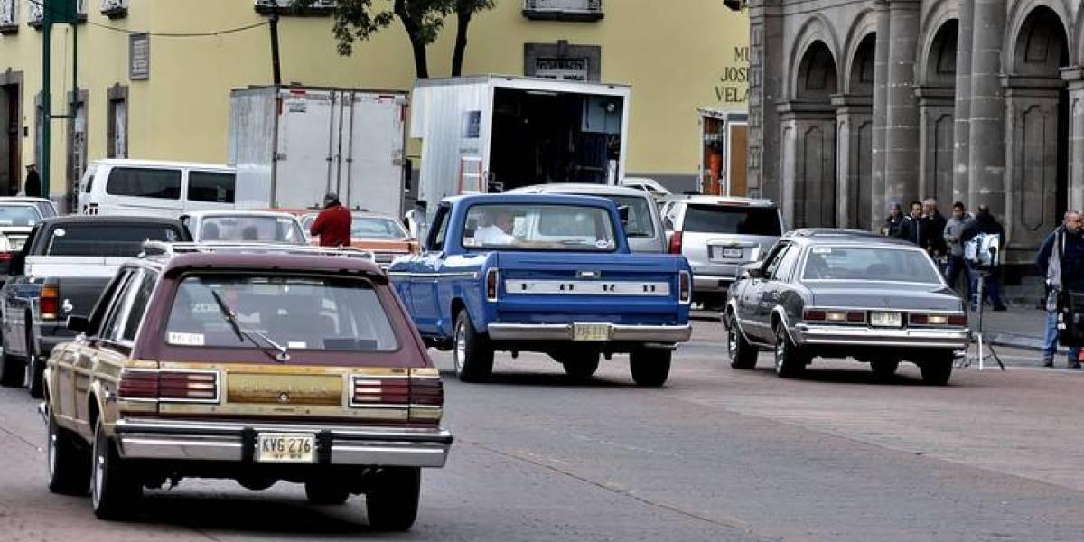 Netflix continua la producción de Jacaranda en el centro de Toluca