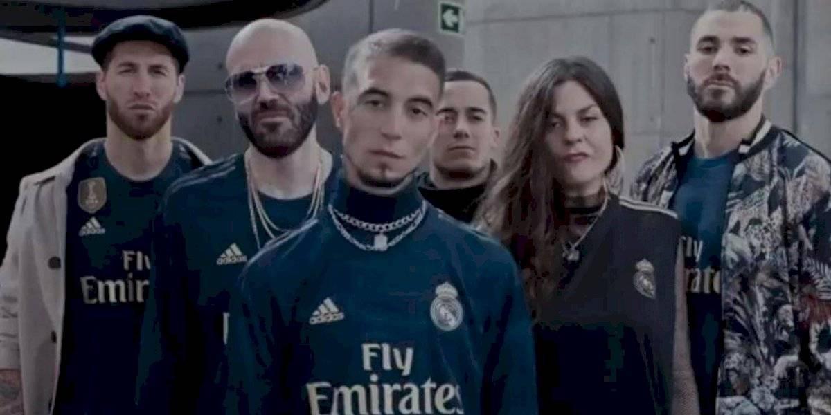 Al ritmo de rap, el Real Madrid lanzó su segunda indumentaria