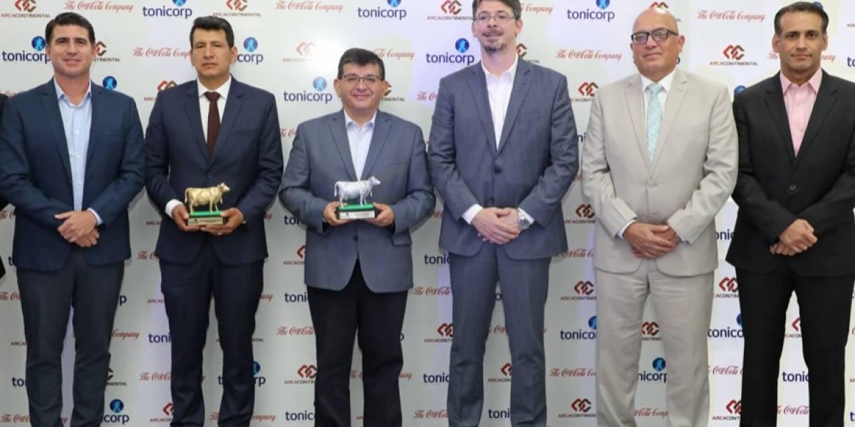 Tonicorp premió las mejores prácticas del sector ganadero de Ecuador
