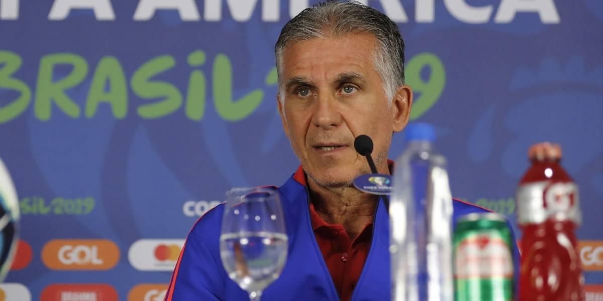 ¡Así se habla! La contundente advertencia de Carlos Queiroz a Chile de cara al partido