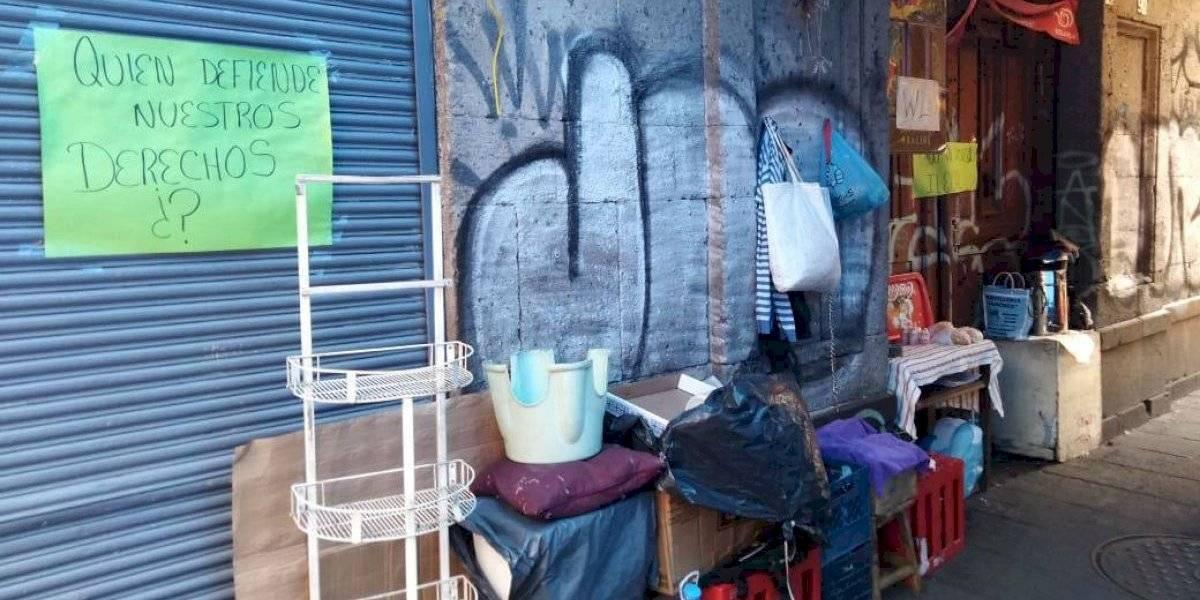 No perdemos la esperanza de regresar a casa: familias desalojadas del Centro Histórico