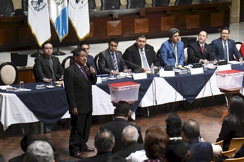 Elección de representantes ante la comisión de postulación para CSJ. Foto: Omar Solís
