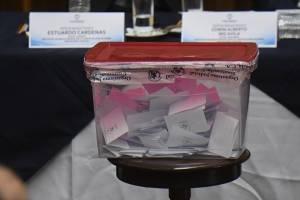 Votación para elegir representantes de la Corte de Apelaciones ante la comisión de postulación para CSJ.