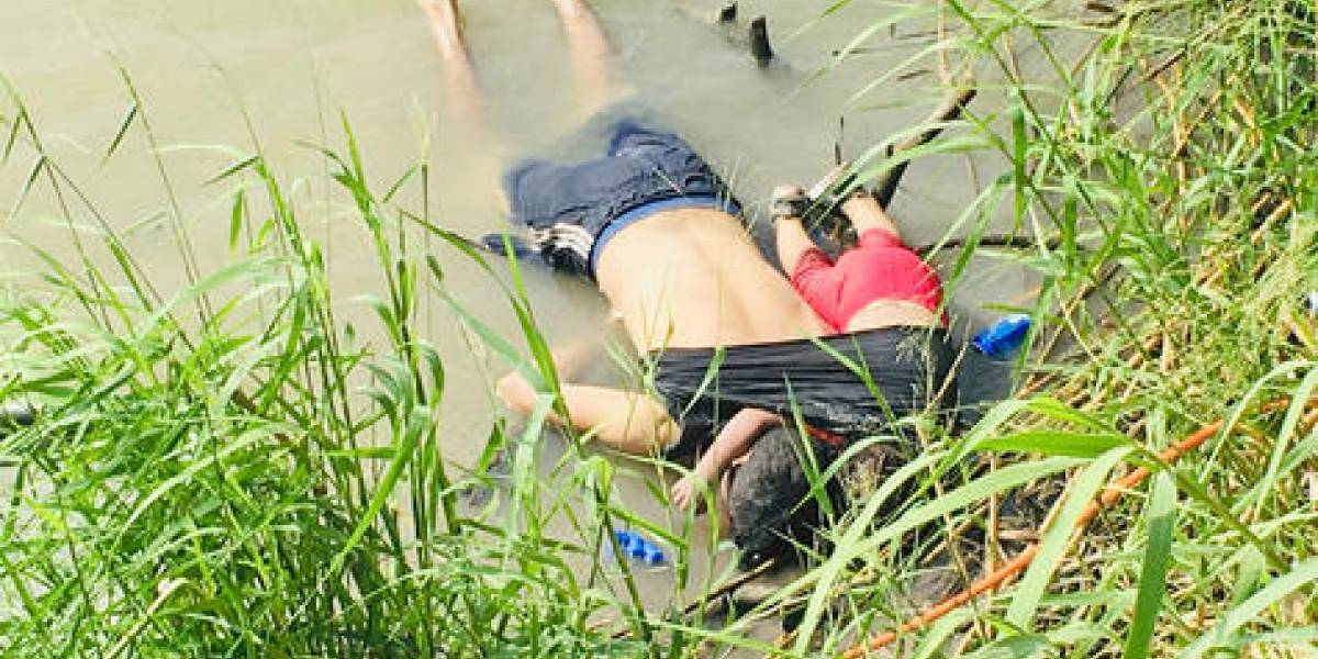 El drama de la migración a EE.UU. en una sola foto