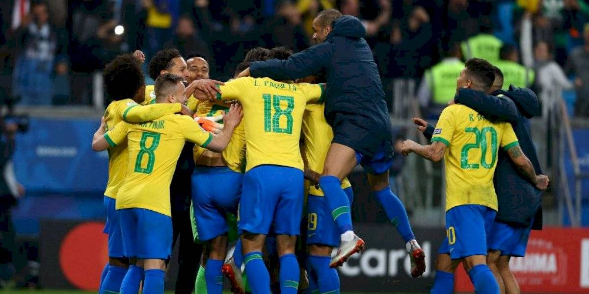 Brasil sufrió para espantar a su Bestia Negra de las últimas Copa América