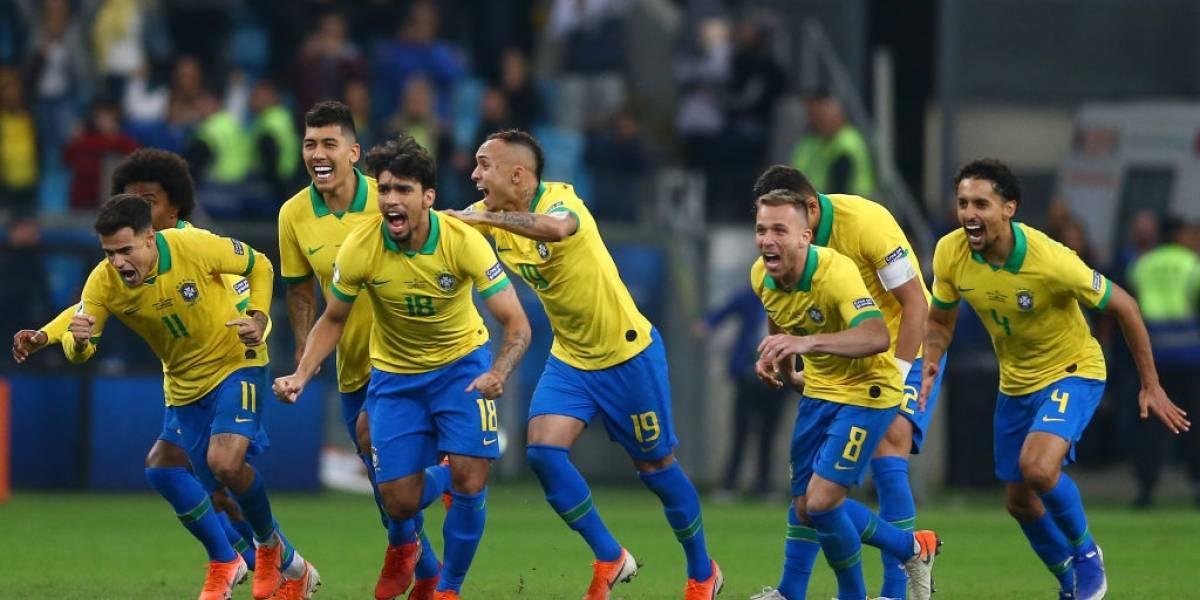 Brasil por fin pudo espantar a su Bestia Negra y dejó fuera a Paraguay en unos dramáticos penales