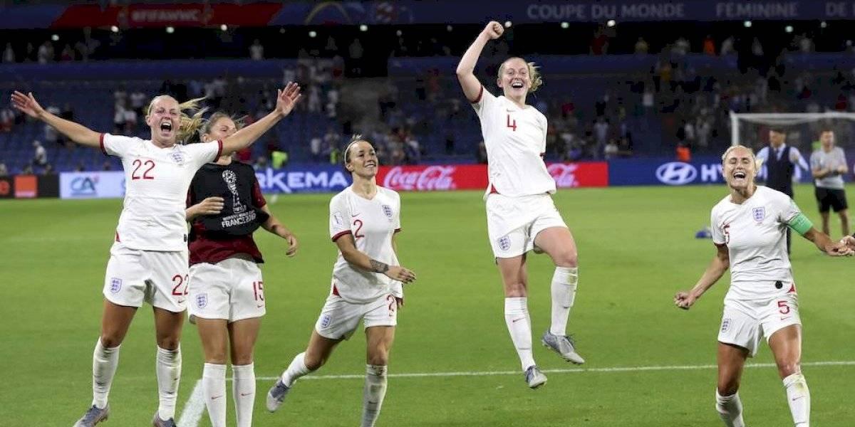 Inglaterra, primer semifinalista en el Mundial femenino