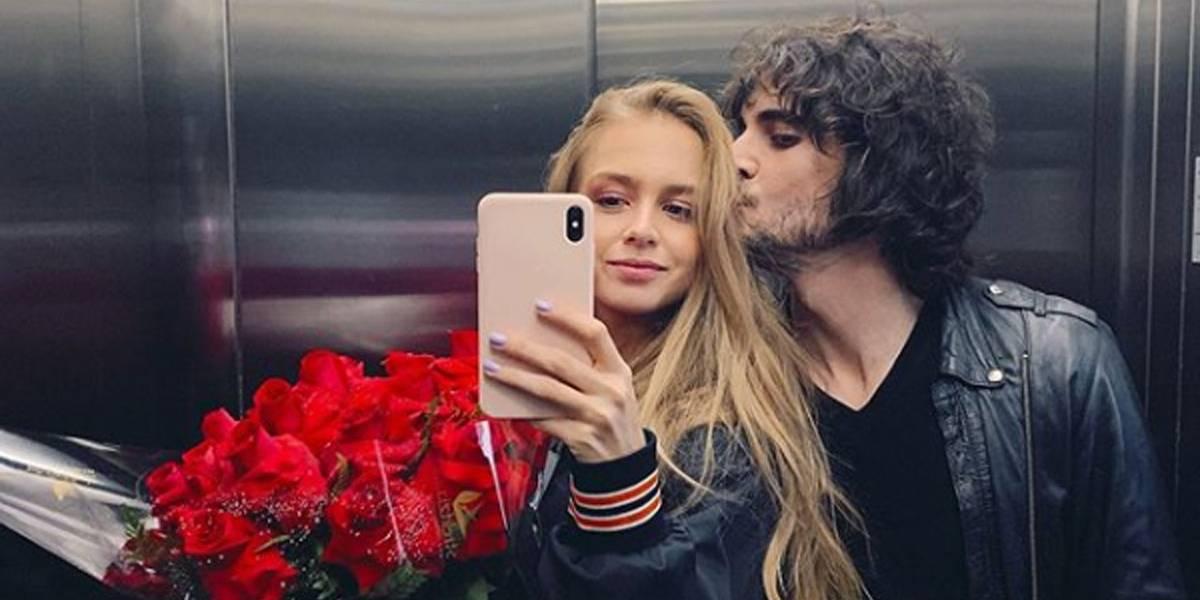 Isabella Scherer publica primeira foto com Fiuk após assumir namoro