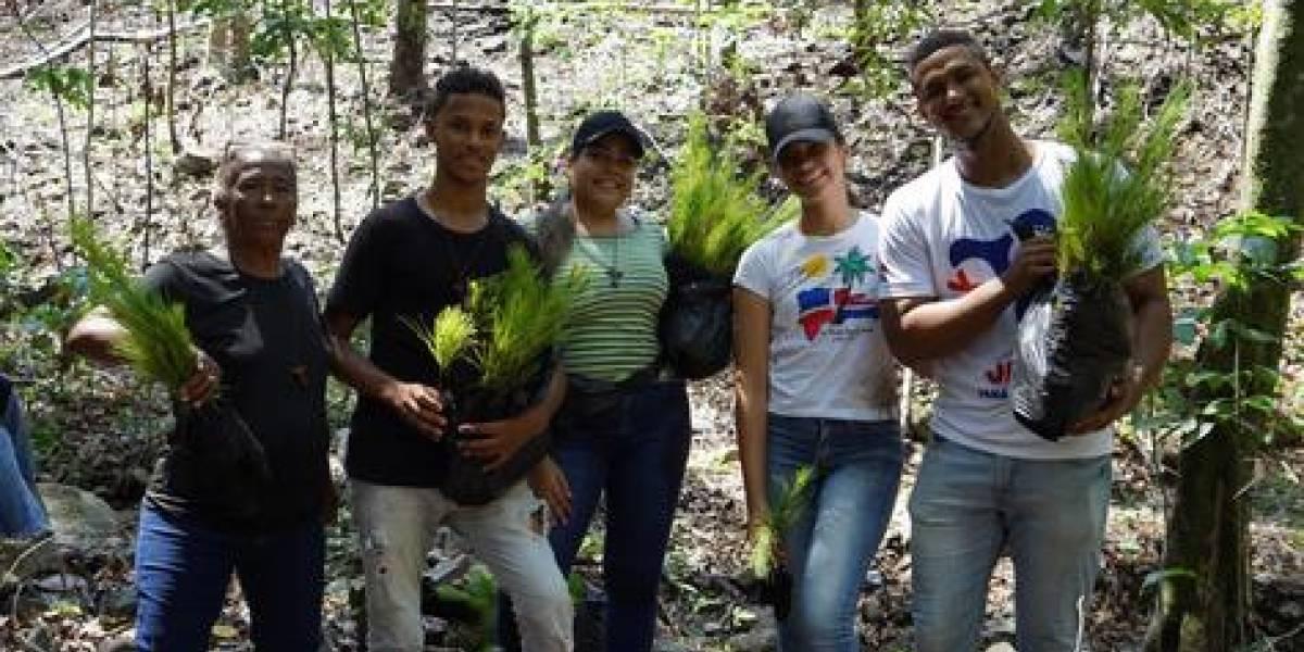 #TeVimosEn: ISM realiza jornada de forestación en Santiago Rodríguez