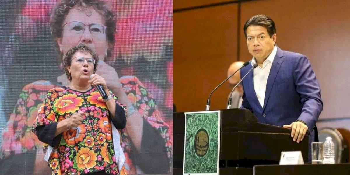 #PolíticaConfidencial Bertha Luján y Mario Delgado suenan para presidencia de Morena