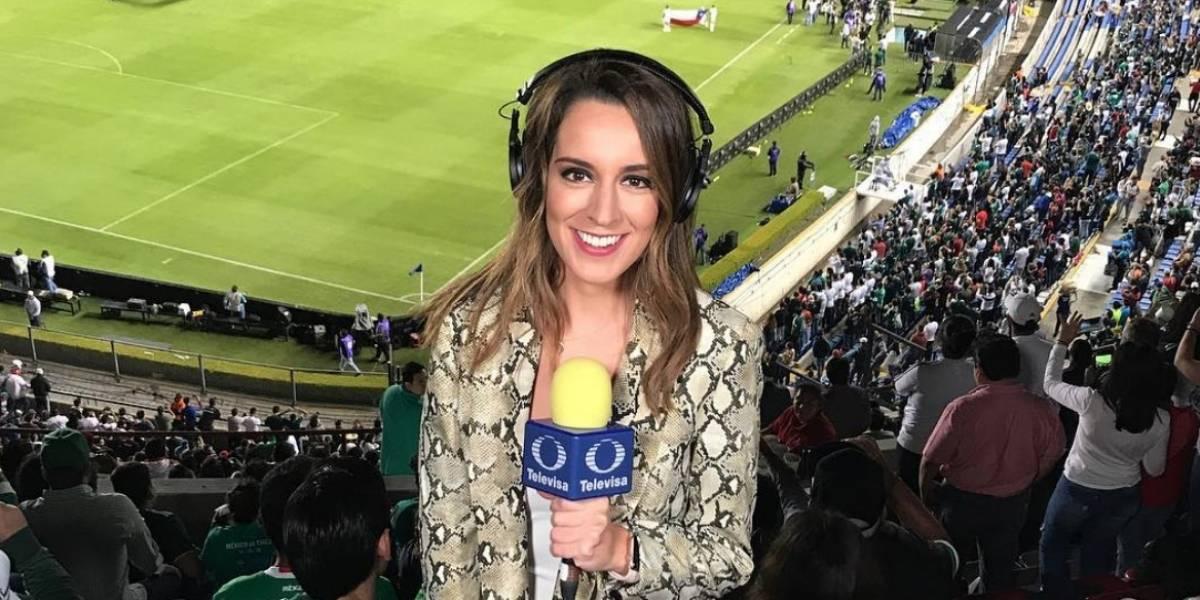 ¡Una más! Jimena Álvarez se despide de Televisa Deportes