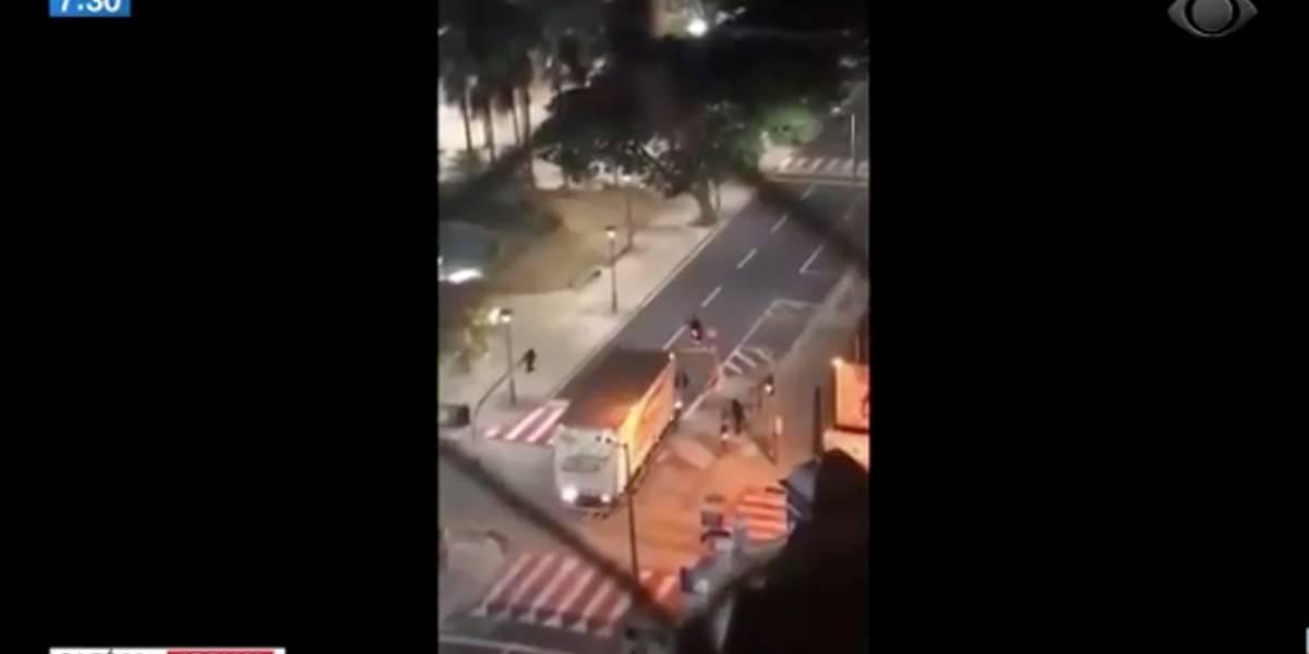 Criminosos trocam tiros e assustam moradores em Uberaba, no Triângulo Mineiro