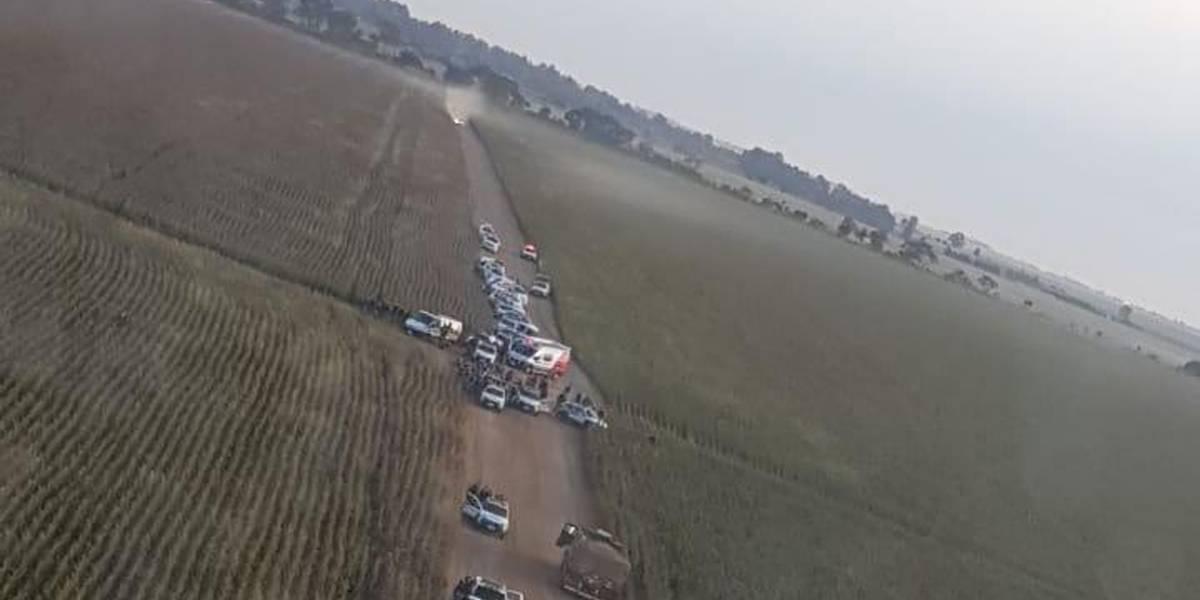 Tiroteio em Uberaba: Criminosos fazem reféns em estrada após assalto a banco