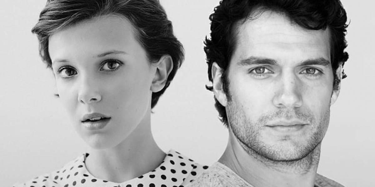 Millie Bobby Brown e Henry Cavill serão irmãos Holmes em novo filme