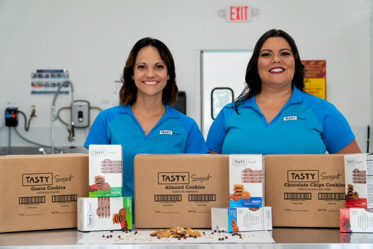 Tasty Smart presenta una gama de galletas dulces, veganas y libres de gluten