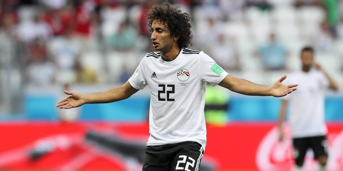 Perdonan a Amr Warda, el jugador egipcio que acosó a mujer mexicana