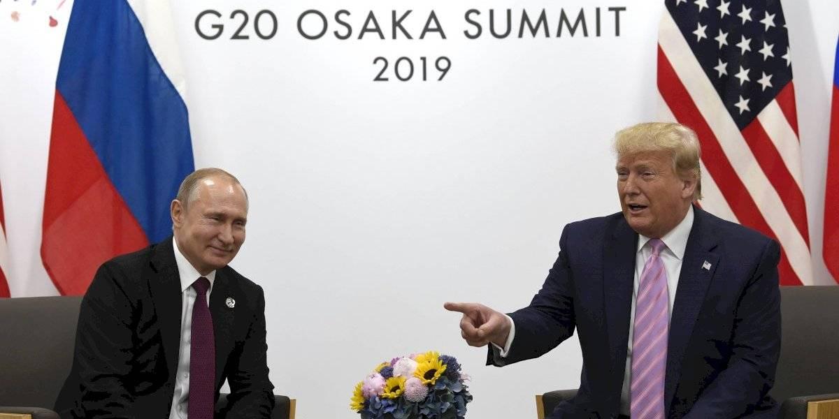 """""""No interfieras en la elección"""": la sarcástica advertencia de Trump a Putin en un G20 en el que se roba el protagonismo"""
