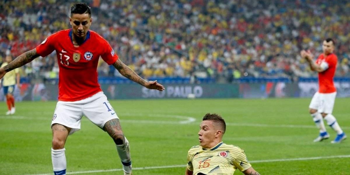 Pulgar arriba para Erick en la Roja, que brilló como un veterano de 10 Copas América ante Colombia