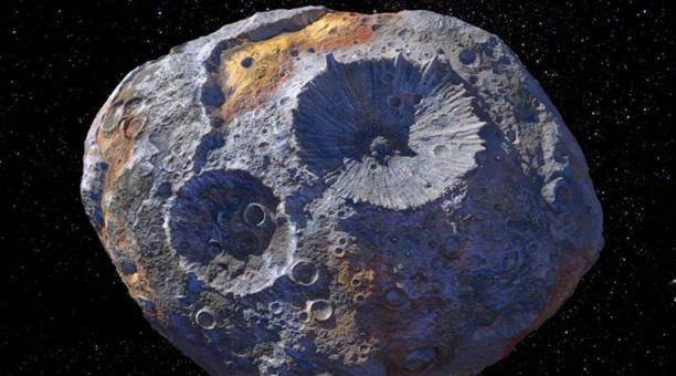 La NASA realiza estudios en un asteroide el cual está lleno de oro