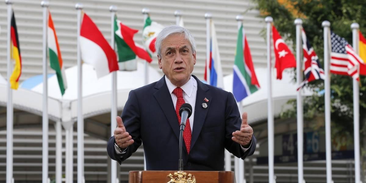 Piñera alarga el chicle y dice que firmará acuerdo de Escazú cuando sea bueno para Chile