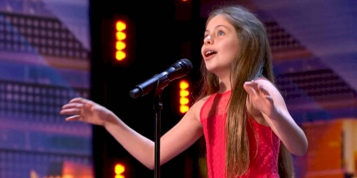 Voz de menina de 10 anos impressiona plateia e jurados no 'America's Got Talent'