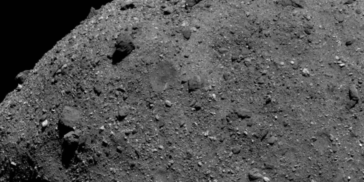 Sonda OSIRIS-REx da NASA revela importante registro do asteroide Bennu