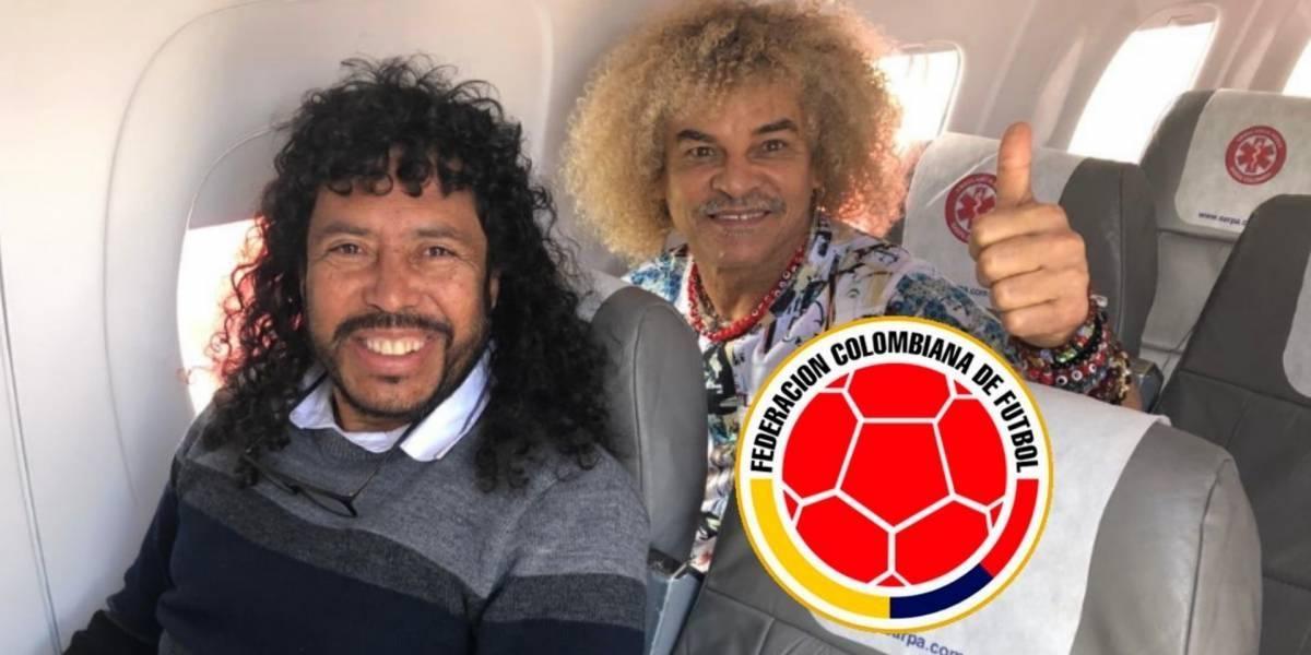 Mensaje del 'Pibe' Valderrama y Rene Higuita que pone a pensar a la federación de fútbol